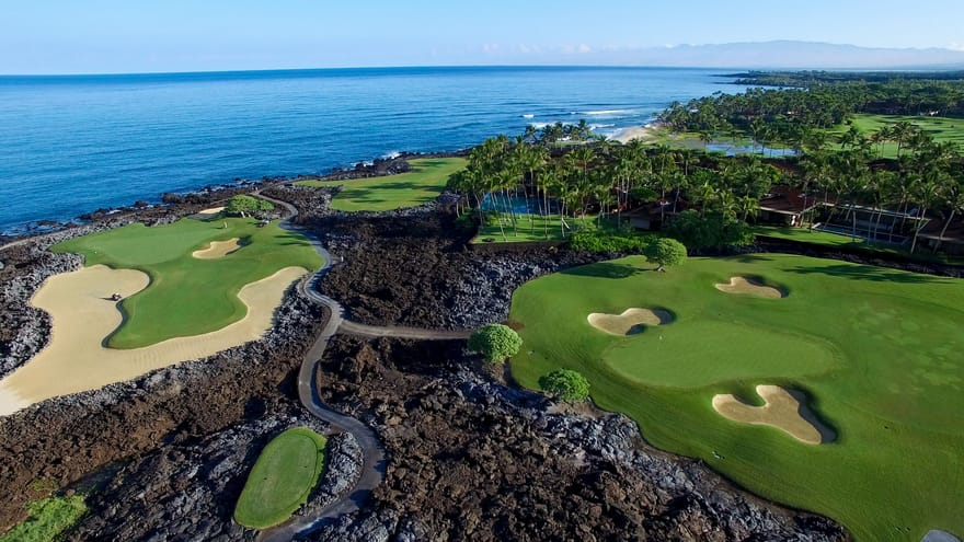 Ocean front golf
